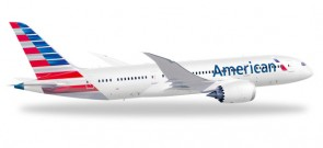 American Airlines Boeing 787-8 Dreamliner Reg# N800AN Herpa 527606   1:500