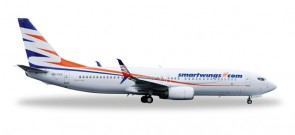 SmartWings 737-800 Scimitar winglets Reg# OK-TTV Herpa Wings 528337 Scale 1:500
