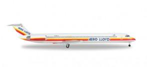 Aero Lloyd McDonnell Douglas MD-83 Reg# D-ALLD Herpa Wings 528429 Scale 1:500