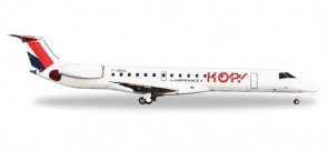 Hop! by Air France Embraer ERJ-145 Die-Cast Herpa 528900 1:500