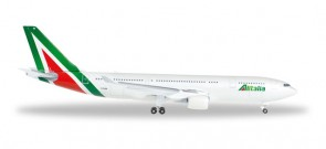 Alitalia New Livery Airbus A330-200 Reg# I-EJGA Herpa 528924 Scale 1:500