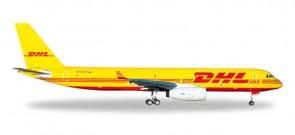 DHL(Aviastar) Tupolev TU-204C Reg# RA-64024 Herpa 529112 Scale 1:500