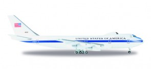 "E-4B ""Nightwatch"" USAF Airborne Command Post 747-200 # 8722 74-0787 Herpa 529266-001 Scale 1:500"
