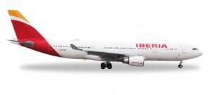 """Iberia Airbus A330-200 """"Oaxaca"""" Reg# EC-MIL Herpa 529303  Scale 1:500"""