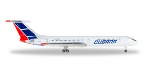 Cubana Ilyushin IL-62M Reg# CU-T1280 by Herpa Wings Die-Cast 529365 scale 1:500