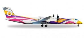 """Nok Air Bombardier Dash 8 Q400 Reg# HS-DQA """"Anna"""" Herpa 529662 Scale 1:500"""