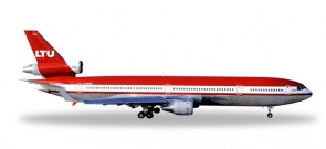 LTU Germany MD-11F Reg# D-AERB Die-Cast Herpa Wings 529723 Scale 1:500