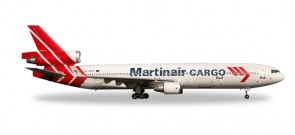 Martinair Cargo MD-11F Reg# PH-MCP Die-Cast Herpa Wings 529730 Scale 1:500