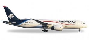 Aeromexico Boeing 787-8 Dreamliner Reg# N961AM Herpa 529815 Scale 1:500