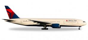 Delta Boeing 777-200 Reg# N866DA Die-cast Herpa 529839 Scale 1:500