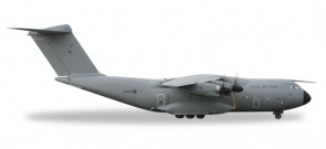 RAF Royal Air Force Airbus A400M Atlas LXX Squadron Herpa 529969 Scale 1:500 HE529969