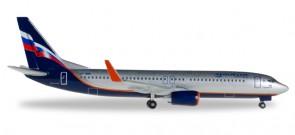 Aeroflot Boeing 737-800 Winglets Nobel Alexander Solzhenitsyn Reg VP-BRR Herpa 52990 Scale 1:500