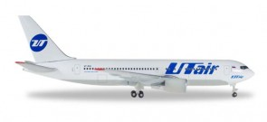 UTair Boeing B767-200 Passengers Herpa Die Cast Model 530057 Scale 1:500