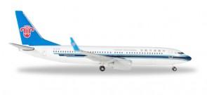 China Southern 737-800 Reg# B-5718 中国南方航空 Herpa 530149 Scale 1:500