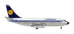 """Lufthansa's First 737-200 1969 Reg# D-ABBE """"Remscheid"""" Herpa 530248 Scale 1:500"""