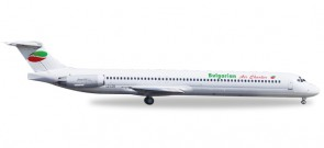 Bulgarian Air Charter MD-82 Reg# LZ-LDS Die Cast Herpa 530392 Scale 1:500