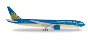 Vietnam Airlines Boeing 777-200 Reg# VN-A146  Herpa 530460 Scale 1:500