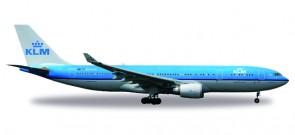 """KLM Airbus A330-200 Reg# PH-AOM """"Venezia"""" Herpa 530552 Scale 1:500"""