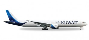 Kuwait Airways Boeing 777-300ER  New livery colors Herpa 530750 Scale 1:500