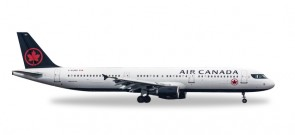 Air Canada A321 new livery registration C-GJWO Herpa Wings 530804 scale 1:500