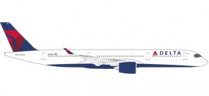 First Delta Airbus A350-900 Reg# N501DN Herpa Wings 530859 Scale 1:500