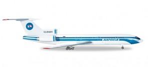 Alrosa Mirny Air TU-154M АЛРОСА RA-85684 Herpa 530996 Scale 1:500