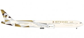 Etihad Airways Boeing 777-300ER A6-ETC Herpa 531030 1:500