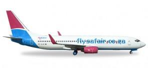 Flysafair Boeing 737-800 ZS-SJS Herpa 531085 1:500