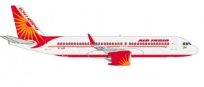 Air India Airbus A320neo VT-EXF Herpa Wings HE531177 Scale 1:500
