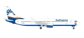 Sun Express Airlines Boeing 737Max8  D-ASMA  Herpa Wings 534291 scale 1:500