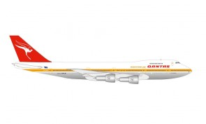 Centenary Qantas Boeing 747-200 Herpa Wings 534482 scale 1:500