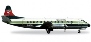 Manx Airlines Vickers Viscount 800 Reg# G-AZNA Herpa 556866   1:200