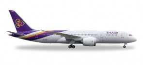 "Thai International (Thailand) B787-8 Ongkharak"" HS-TQA 1:200 Herpa HE556958"