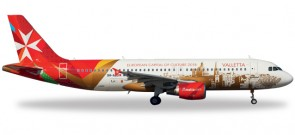 "Air Malta  A320  ""Valletta European capital of culture 2016"" 557023 Scale 1:200"