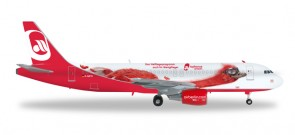 Air Berlin (Germany) A320-200 HE557269 Scale 1:200