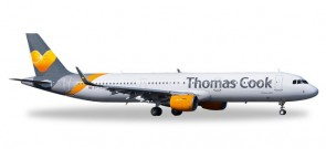 Thomas Cook Airbus A321 Herpa  557634 Scale 1:200