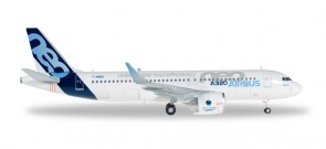House Airbus A320 Neo Reg# F-WNEO Herpa Wings 557890 Scale 1:200