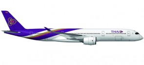 Thai Airways A350 XWB Reg# HS-THB Herpa 558174 Scale 1:200
