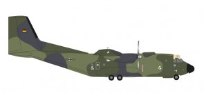 "Luftwaffe Transall  C-160 LTG 63 ""Last Out"" Reg# 50+83 Germany Herpa 558334 Scale 1:200"