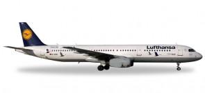 "Lufthansa A321 25 Years Crane Foundation ""Wismar"" D-AIRR 558563 1:200"