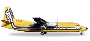 TAT Fairchild Hiller FH-227 Reg F-GCKO Die-Cast Herpa 558594 Scale 1:200