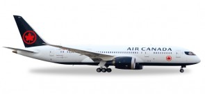 Air Canada Boeing 787-8 New Livery Dreamliner Reg# C-GHPQ Herpa Wings 558600 Scale 1:200