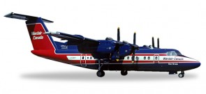 Wardair Canada Dash 7 DHC-7 registration C-GXVF Herpa 558792 Scale 1:200