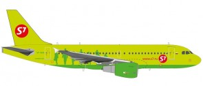 S7 Siberia Airbus A319 registration VP-BHQ Herpa 559072  scale 1:200