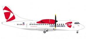 CSA Czech Airlines ATR-42-500 Reg# OK-KFN die-cast Herpa 559256 scale 1:200