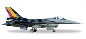 Belgian Air Force Lockheed Martin F-16AM Fighting Falcon - F-16 Solo Display Team  Herpa 580137 Scale 1:72