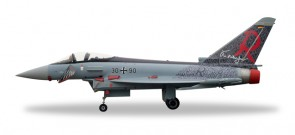 "Luftwaffe Eurofighter Typhoon TaktLwG 71 ""Richthofen"" Herpa 580182 Scale 1:72"