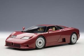 Red Bugatti EB110 GT Dark Red 70977 AUTOart 1:18