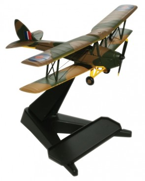 De Havilland DH.82A Tiger Moth Scale 1:72 Die Cast Model 72TM001