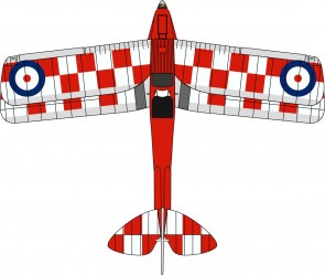 De Havilland DH.82A Tiger Moth – No. 32 Squadron, K2585 72TM005 1:72